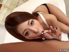sexy haruka sanada giving precious head!