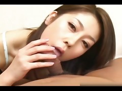 japanese sweetheart gives erotic hand n blow