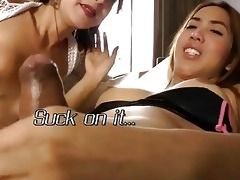 oriental tgirls give had to ejaculation