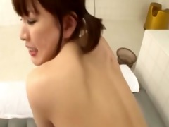 sexy oriental sweetheart drilled doggy position