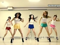 dancing korean hotness
