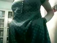 preggo indian wife copulates on web camera