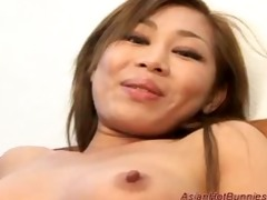 oriental sexy bunny acquires deepthroat and anal