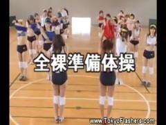 stripped nasty asians in gymnasium
