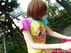 oriental redhead legal age teenager acquires