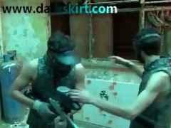 paintball beauty acquires anal creampie and spunk