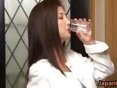 chisa kirishima aged oriental lady shows part6