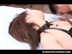 nympho jap doxy in fishnets in a sex hardcore