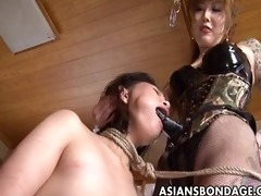coarse oriental mastix ploughs her lovely bondman