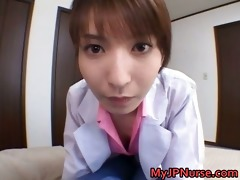 ann nanba oriental nurse shows off her cute part11