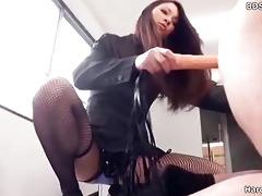oriental femdom sex ding-dong bondman maledom