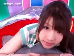 adorable oriental legal age teenager cutie