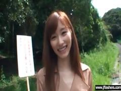 hawt japanese girl flashing and fucking clip-1010