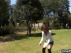 concupiscent japanese legal age teenager honey