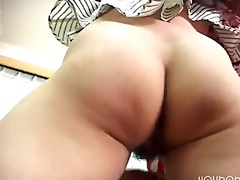 appealing japanese office lady has sex