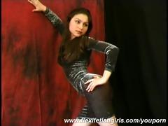 sexy julia pliant undress