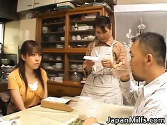 lustful japanese milfs engulfing and fucking